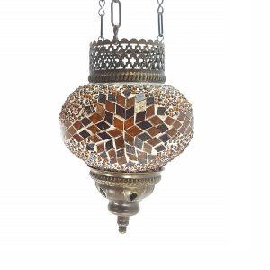 lámparas techo mosaico
