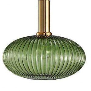 lampara de techo verde